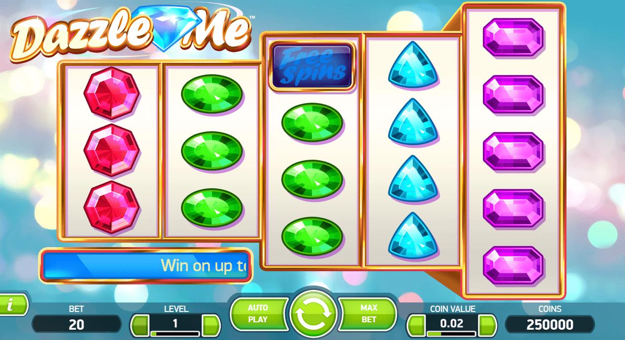 Dazzle Me slotsspel