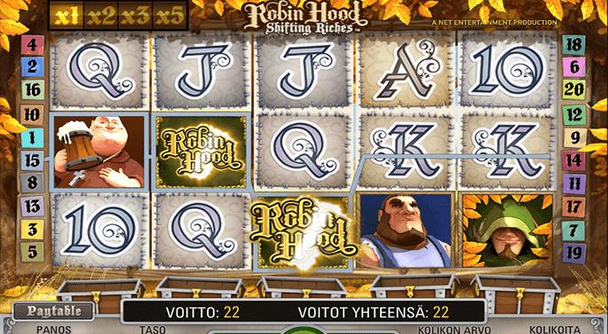 Robin Hood slotsspel