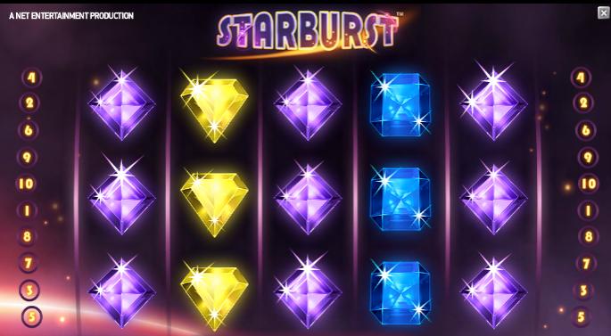 Slotsspel Starburst