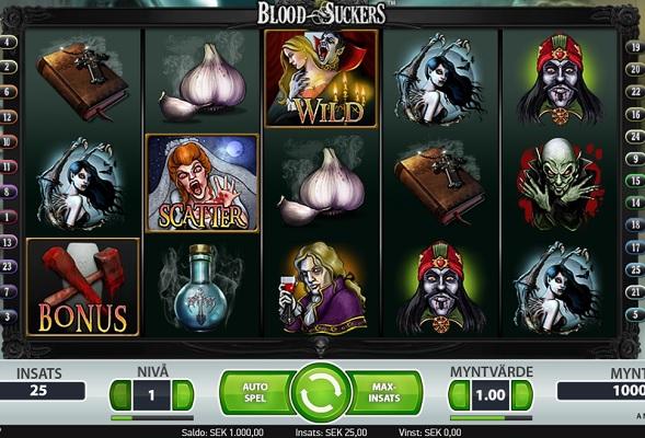 Du kan spela Blood Suckers på CherryCasino!
