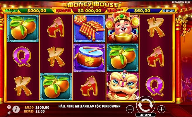 Nya slotsspelet Money Mouse!