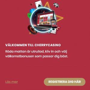 Spela slotsspel hos CherryCasino!