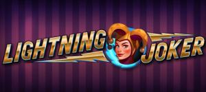 Nya Lightning Joker från Yggdrasil Gaming!